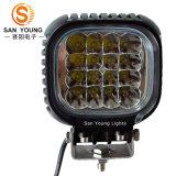 De waterdichte LEIDENE Lichte 48W4 Duim van het Werk voor het Werken van de Vrachtwagen