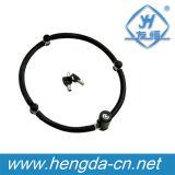 Yh1386非常に安く4つのセクションキーの調節可能な折るバイクロック