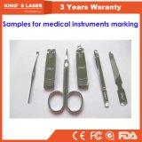 Engraver 30W 50W 100W лазера волокна гравировального станка медицинского инструмента