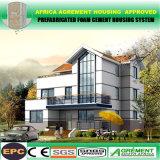 Livrar a construção de aço pré-fabricada da casa do edifício do projeto armazém de aço claro