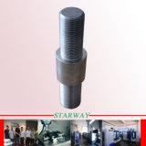 Stahl, der mit Qualität CNC-maschinell bearbeitenteilen sich dreht