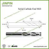 flauta doble Endmill de 6m m para la resina