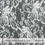 Дешевая ткань шнурка простирания цветка для одеяния (M0371)