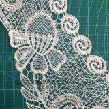Ragazze personalizzate di colore di modo che coprono la tessile del tessuto di cotone del collare del merletto