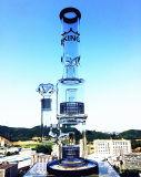 Tubos de Agua de Cristal del Nuevo Reciclador de los Diseños, Tubos del Consumo de Tabaco, Tubos de Agua Que Fuman para la Fábrica al por Mayor