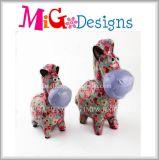 OEM animal cerâmico do banco Piggy do presente o mais novo da arte da decoração