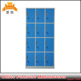 12 Vestuário de metal da porta de aço armário de gabinete