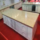 Bianco Polished/colore giallo/nero/parti superiori di marmo grige del quarzo/granito/del controsoffitto/vanità per la cucina/stanza da bagno