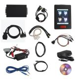 New Genius & Flash Point Obdii / Boot Protocolos Hand-Held ECU Programmer Touch Map