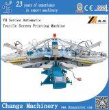 Yh-104/8 Automático rotatorio de la pantalla Impresora textil
