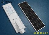 luz de calle solar integrada de la iluminación LED de la lámpara al aire libre del jardín 20W