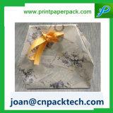 Индивидуальные Романтические роскошь с бархатным витая ручка бумажных мешков для пыли