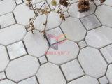Forme géométrique de Shell et de marbre mur mixte Splash mosaïque (PCP142)