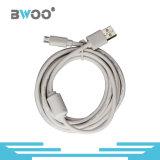 Alta calidad el mismo cable de datos original del USB del micr3ofono para el teléfono elegante