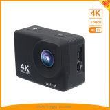 экран касания 2inch 4K резвится камера действия DV с управлением 2.4G Romote