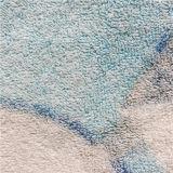 100%年の綿の漫画によって印刷されるビーチタオル