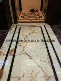 De Marmeren Tegel van Onxy van het Zinkwit voor Vloer, Muur, Stappen, Leuning