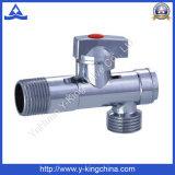 Plumbling покрыло угловой вентиль мыжского управления латунный (YD-5035)