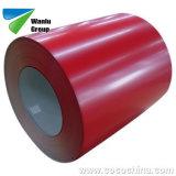 0,45mm PPGI PPGI perfurada Ral 5020 bobina de aço com revestimento de cor