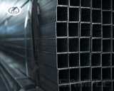Tubo de acero hueco cuadrado por precio del contador, tubo de acero galvanizado de carbón de la sección