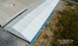 Tenda del magazzino con la tenda foranea d'acciaio di memoria dei pannelli a sandwich