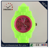 Best Christmas Gift Watch, Geneva Silicon Watch, Silicone Watch DC-380