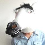 Animal cabeza llena de látex Cosplay Popular caballo marrón Fancy Dress Up la máscara de carnaval