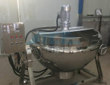 Grande bouilloire revêtue de chauffage électrique avec le mélangeur 50-1000L