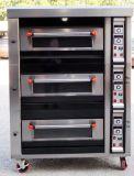 Four électrique de luxe Deck 3 ponts 6 bacs de l'équipement de boulangerie