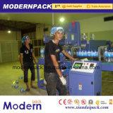 Автоматическая пленки PE сокращается наматывается бутылка воды упаковочные машины