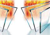 preço de fábrica de vidro de segurança temperado corta-fogo para a lareira