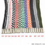Corda capa di rame dei pantaloni dei pantaloni del Drawstring del nastro della protezione del merletto di modo