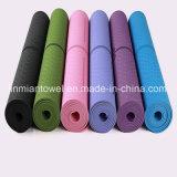 A espessura de 6 mm o tapete de yoga TPE