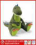 Giocattolo del dinosauro verde della peluche con CE Certifacation