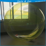 Het transparante Lassen van de Hete Lucht van de Ballon TPU1.0mm D=3.0m Duitsland Tizip van het Water met Ce En14960