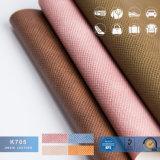 Rexine fa, cuoio per i sacchetti, tessuto di cuoio sottile del PVC