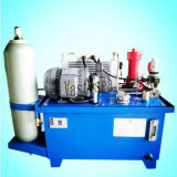 La presión estática, la estación de energía hidráulica pequeña