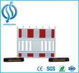 Productos calientes plástico de la seguridad en carretera de la venta y barrera del tráfico de la cerca del acero