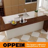 Armadi da cucina moderni di legno della lacca di progetto della Sudafrica grandi (OP15-L26)