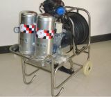 Apparecchiatura a presa d'aria autonoma di lotta antincendio