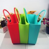 Promozione Gifts Reusable Eco-Friendly Silicone Handbag per Shopping