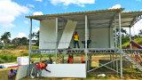 """Facile installer la Chambre préfabriquée de villa de panneau """"sandwich"""" de bâti en acier"""