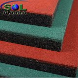Mattonelle di gomma della stuoia della pavimentazione riciclate campo da giuoco esterno