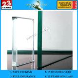 Verre trempé 3-19 mm en verre trempé à verre anti-trempe avec AS / NZS2208: 1996