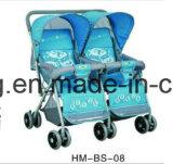 Asiento doble cómodo cochecito de bebé