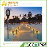 Luz impermeable al aire libre del césped del paisaje 96LED de la yarda de los productos de la patente de la lámpara de la llama del fuego solar de la antorcha