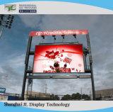 Alquiler en el exterior de la publicidad a todo color con pantalla LED Panel P4.81