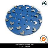 250mm 20 Seg 다이아몬드 지면 가는 격판덮개