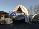 15 ' couvertures larges de bateau de chargement de chute de neige importante/tente de yacht/rv jetée pour l'hiver (JIT-1536S)