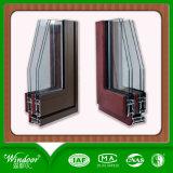 China-Fabrik-hölzernes Farben-Flügelfenster-Fenster für Verkauf